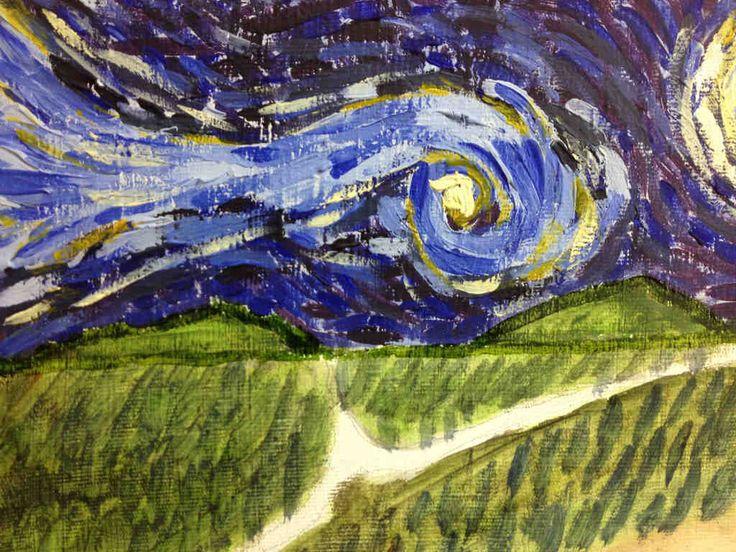 Un día con Van Gogh #vangogh #rafael #fischer #pintura