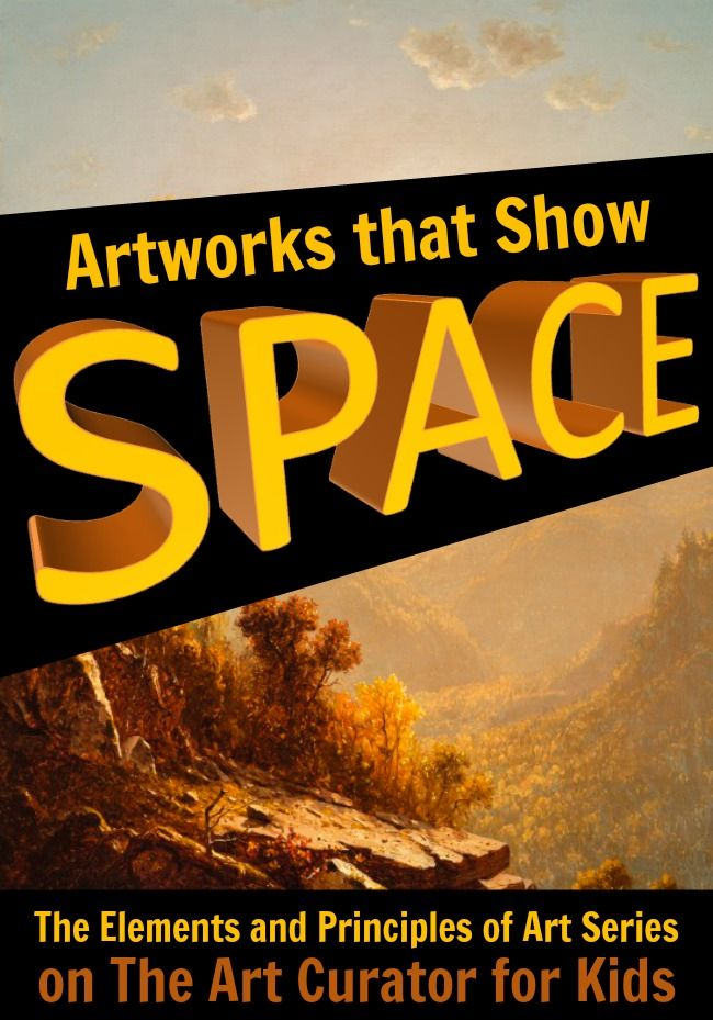 Elements Of Art Space Examples : Best images about elements and principles of art on