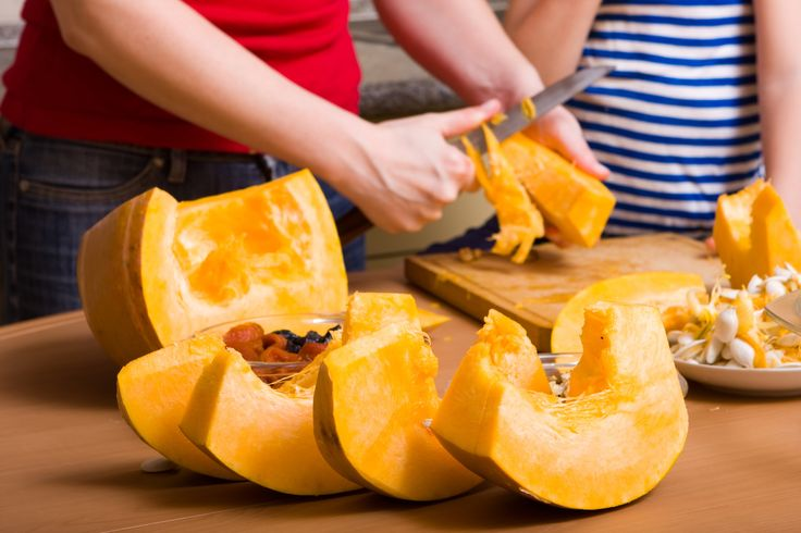 Put those decorative pumpkins to use! With just a little effort, you can get a generous amount of nutritious fresh pumpkin for all your favorite pumpkin recipes.