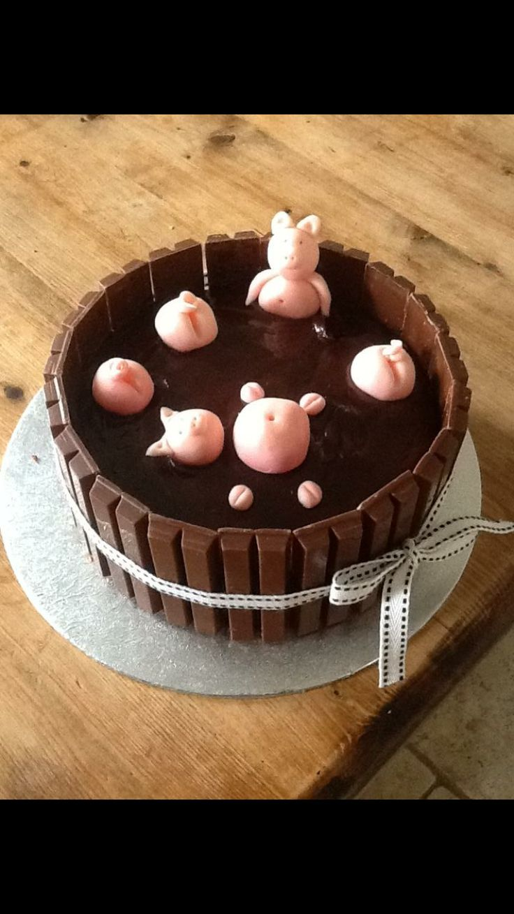1000 Ideas About Pigs In Mud Cake On Pinterest Mud Cake