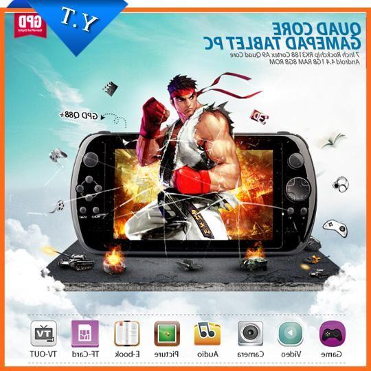 Портативная игровая консоль Gpd Q88 + 7 Pc Ips GamePad mp5 Q88+