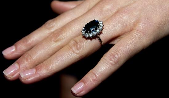 Princess Diana's & Kate Middleton's Ring <3