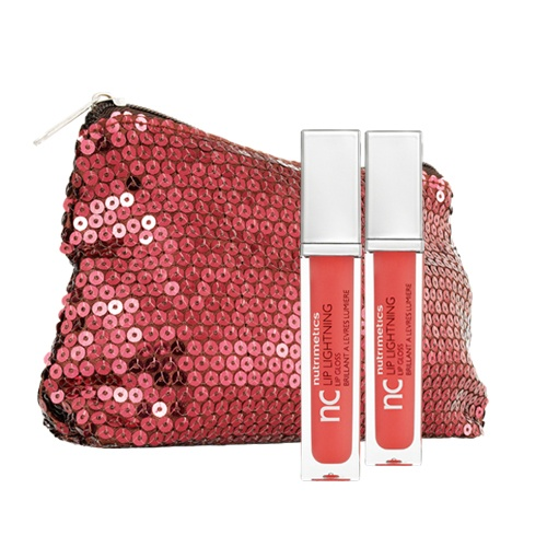 'A Christmas To Remember' 2 x lip glosses and sequined purse $39.90  www.nutrimetics.com.au/lindamccully