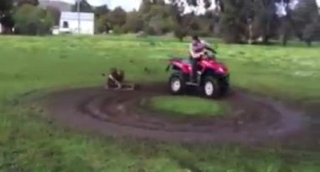 Here S One Muddy Way To Occupy The Kids With Your Quad Quad Kids Good Ole