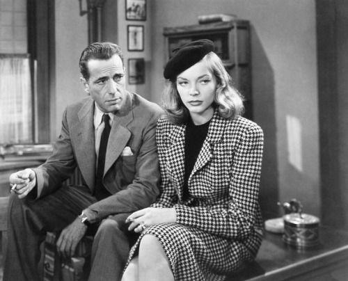 Humphrey Bogart and Lauren Bacall in The Big Sleep  (Howard Hawks, 1946)