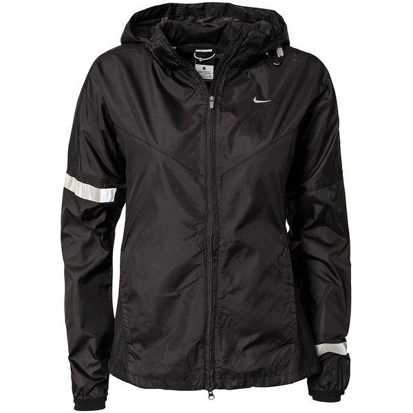 Nike Vapor Jacket W ($160) ❤ liked on Polyvore featuring jackets, tops, bombers, coats & jackets, sports fashion and nike
