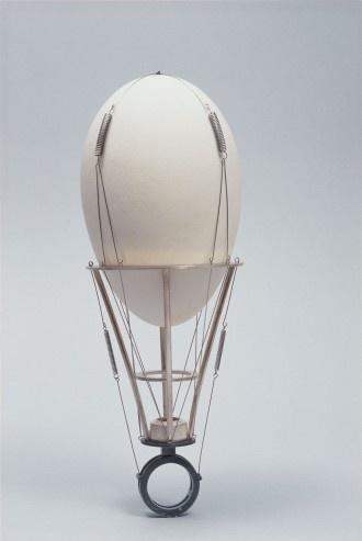 Sigurd Bronger - Goose Egg Ring (1997). Steel, silver