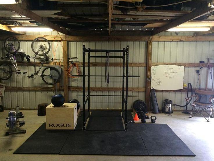 New Crossfit Garage Gym Layout