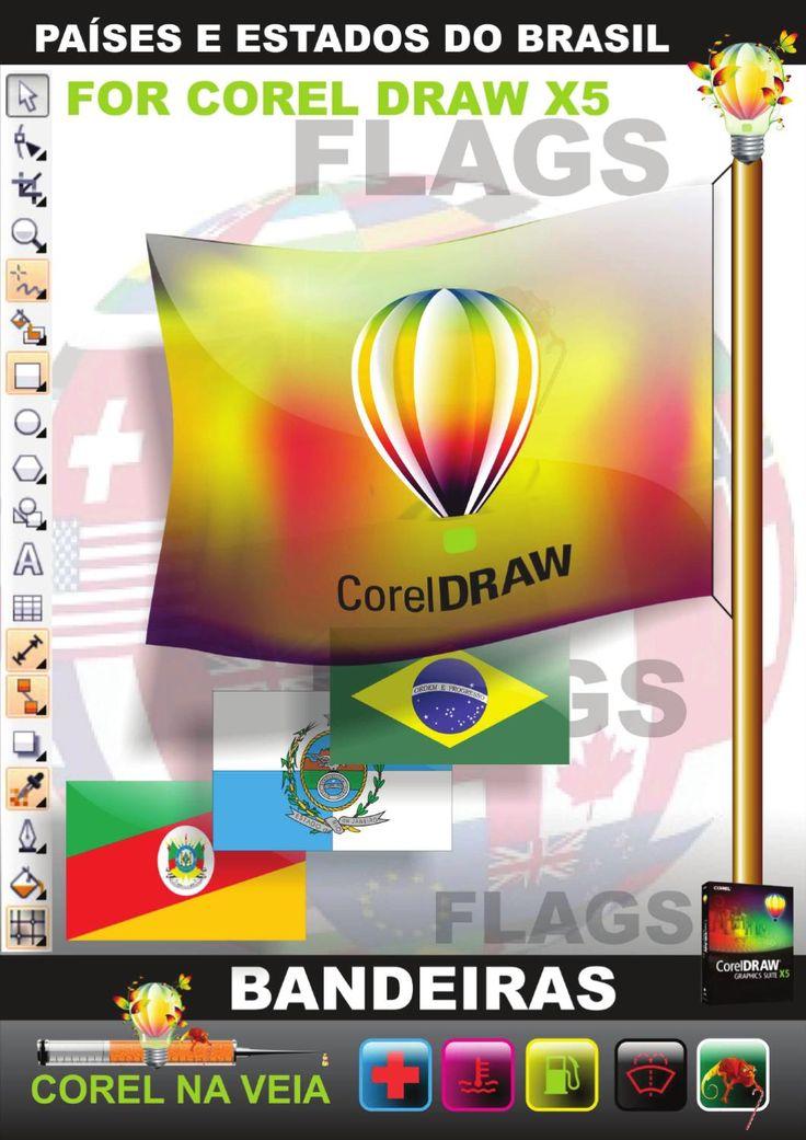Bandeiras Estados Brasileiro e Países by Leo Silveira