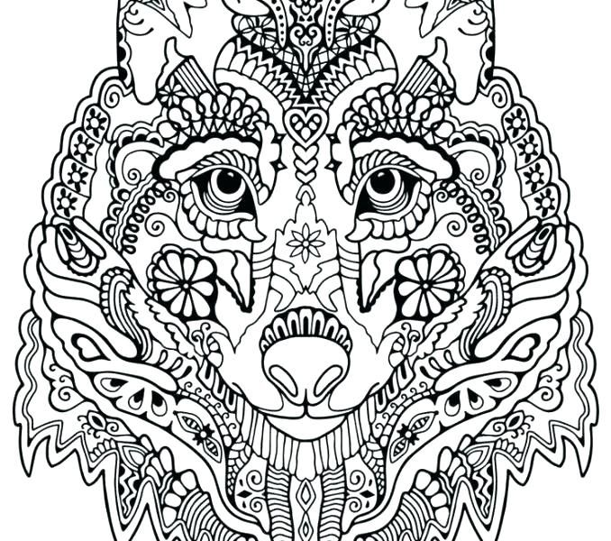 Wolf Coloring Pages To Print Free Printable Wolf Coloring Pages