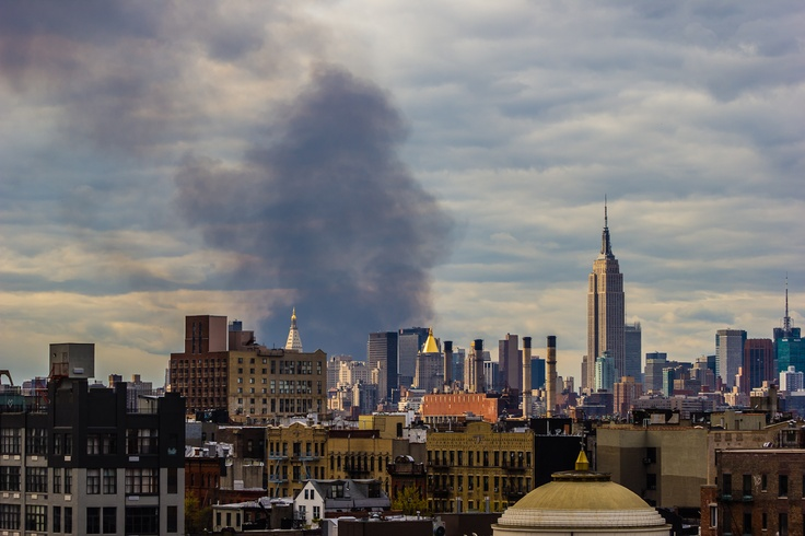 This was a bushfire in New Jersey last week. I took the picture from Brooklyn / Williamsburg.Williamsburg Brooklyn, Beautiful Photography, New Jersey