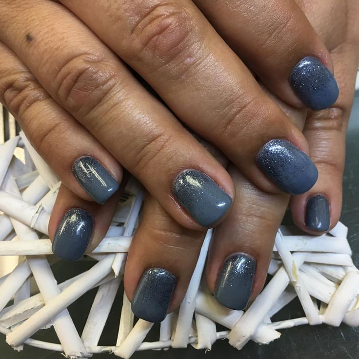 Cuticle Line Glitter Fad For This Client First Time For Everything Cnd Shellac Luxe In Whisper