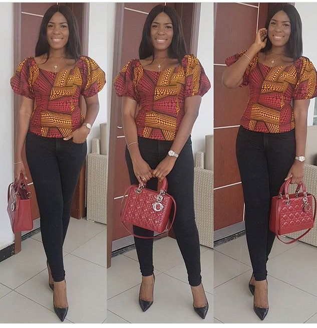 One of the styles that is trending in the Ankara world, is the chic and sophisticated Ankara Blouse which can be worn in different blooming ways. Whether you prefer contemporary, something more traditional, if you have a style or you would like something completely more innovative, this Ankara style feature will give you inspiring ideas…