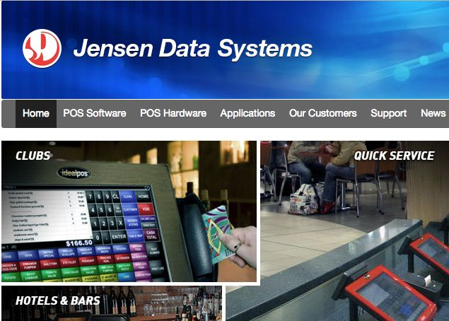 JENSEN DATA SYSTEMS - is a registered proprietary company having first traded in October 1980. Since then, the company has established itself as the leading distributor of Ideal POS Point of Sale Systems throughout Australia. We have installed and currently support over 1000 Club, Hotel, Restaurant and Bottle Shop sites with the Ideal POS range many of which include fully computerised stock control systems, gaming links to loyalty and promotional software.
