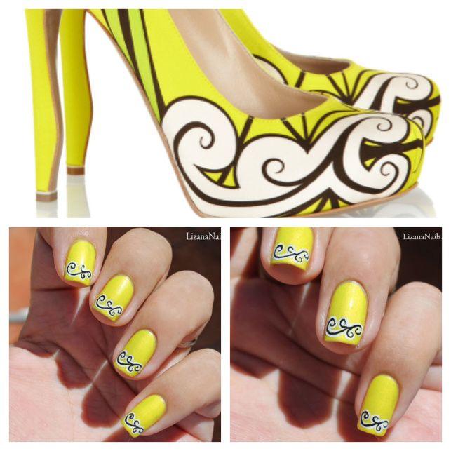 Nail Art simple - Escarpins