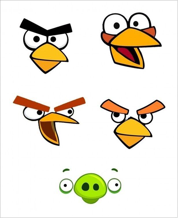 Angry Bird Eyes