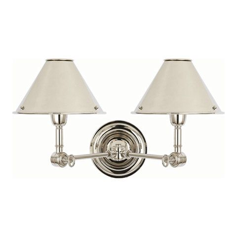 Ralph lauren on pinterest ralph lauren lighting products and sconce - Anette Double Sconce Wall Lamps Sconces Lighting