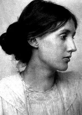 Virginia Woolf (1882-1941) A central figure in the Bloomsbury Group of intellectuals who's books included To the Lighthouse, Orlando and A Room of One's Own, with it's famous dictum, 'A woman must have money and a room of her own if she is to write fiction.'