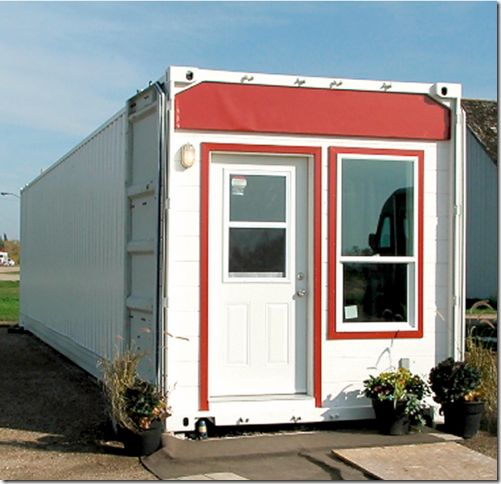 "Shipping Container Home - ""all-season suite,"""