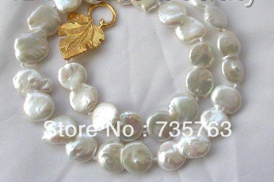 Xiuli 00894 потрясающий большой 28-30 мм барокко белый кеши возрождается пресноводные жемчужные ожерелья