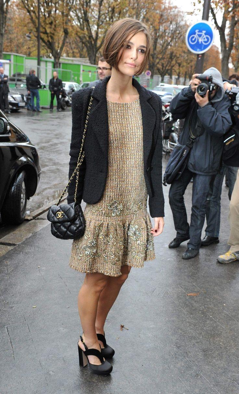 Chanel Fashion Show Keira Knightley Pinterest Keira