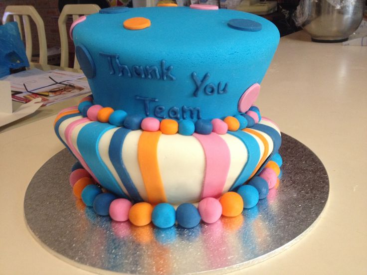 Topsy turvy cake for a corporate event Check out my page on Facebook:  Becs Custom Creations