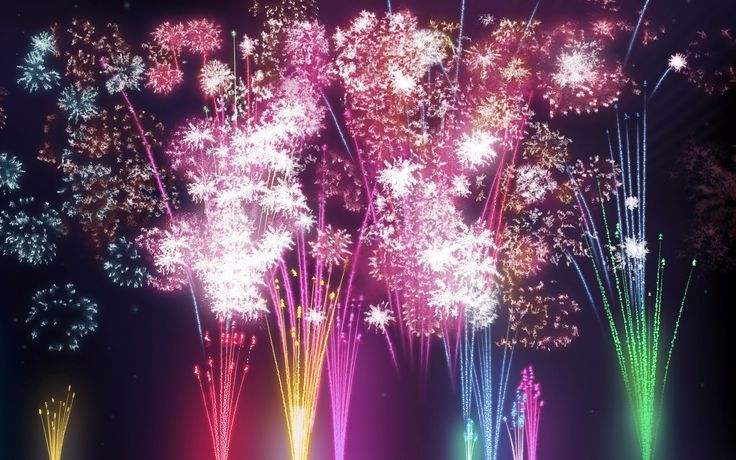 awesome fireworks wallpaper