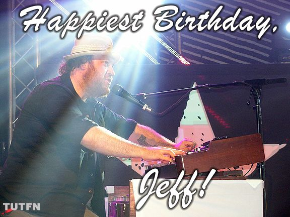 Wishing our favouritest keyboard player the Happiest Birthday today! All the best to Jeff Heisholt from everyone here at TUTFN! <3