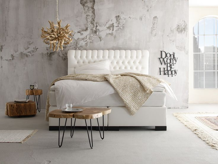 Boxspring bett weiß 180x200  63 best Schlafzimmer images on Pinterest | Abs, Live and Mango