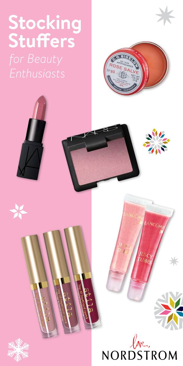 Beauty products were made to be stocking stuffers. Discover gifts sets and popular products from her favorite brands like NARS, stila, Lancôme, MAC and more. Make this the most beautiful holiday season yet at Nordstrom.