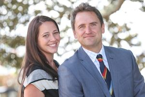 Brooke and Jamie Wansey run Student Horizons, a travel company specialising in worldwide school sports tours and educational trips. Photo / ...