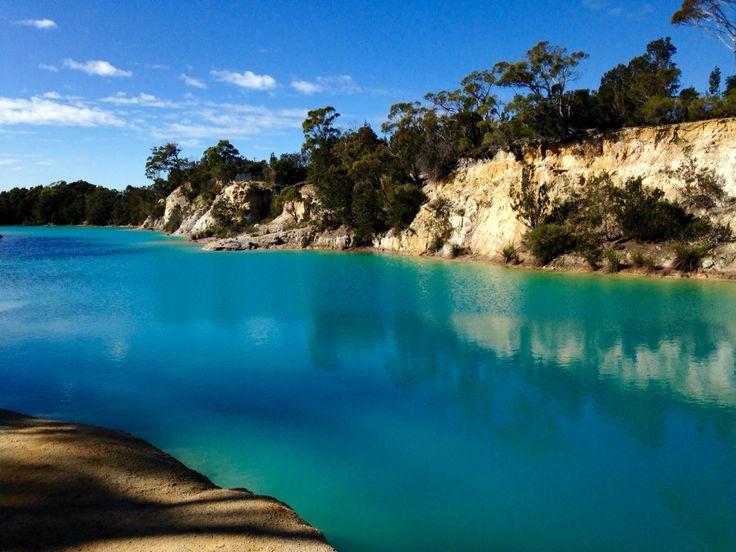 Little Blue Lake, Gladstone Tasmania