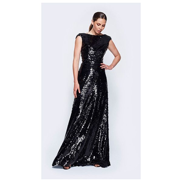 Evening dress long sleeve holiday