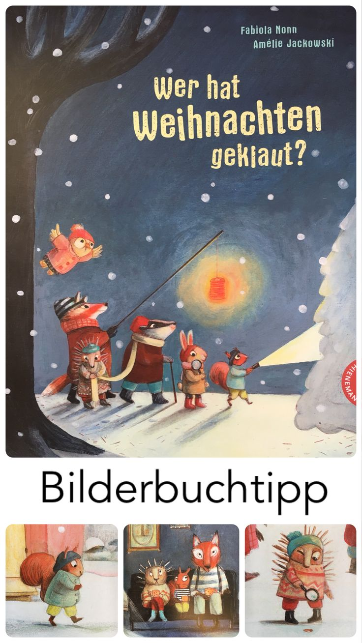 Die Tiere des Waldes bereiten sich auf den Weihnachtsabend vor. Das Eichhörnchen hat Makronen gebacken, doch die sind plötzlich verschwunden. Ob der Igel sie hat? Nein, der hat sie nicht, aber er vermisst seine schöne Lichterkette. Ob der Hase der Dieb ist? Wer hat Weihnachten geklaut? Auf meinem Kinderbuchblog stelle ich dir das Bilderbuch für Kinder ab 3 Jahren näher vor. – Ani As