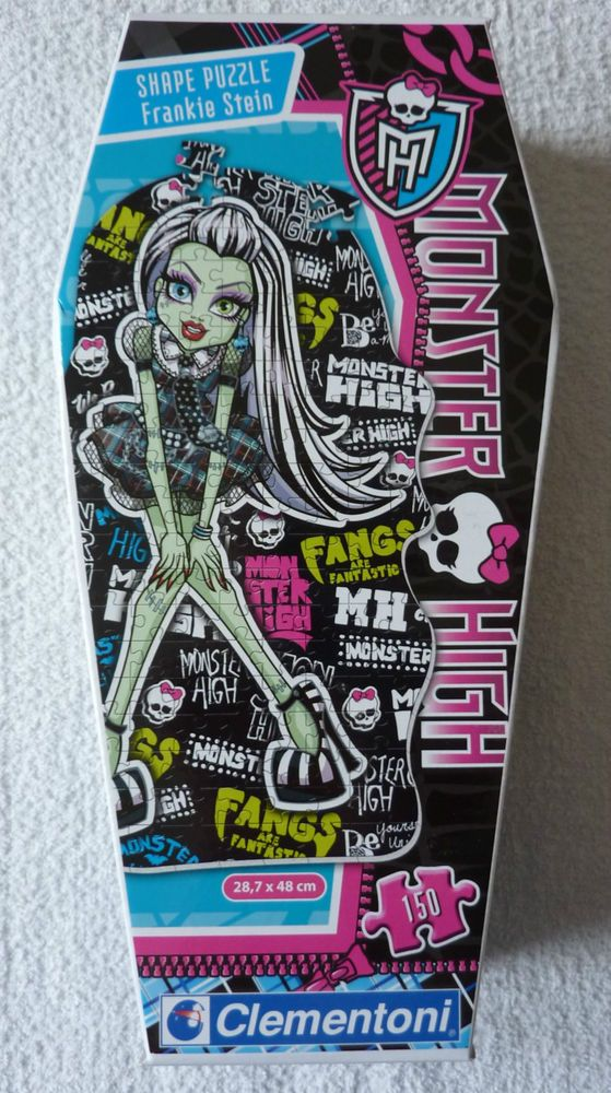 Monster High Frankie Stein Puzzle 150 pièces Clementoni neuf