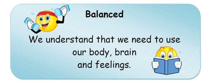 Balanced.