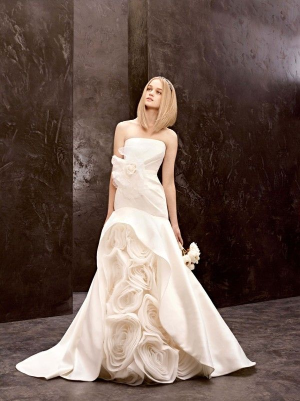 25 best the bustle period and the nineties images on for Affordable vera wang wedding dresses