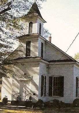 Robersonville Primitive Baptist Church in Martin County, North Carolina.