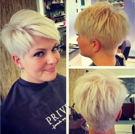 nice Spikey Short Pixie Haircut...
