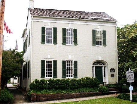 James K. Polk, 11th President of the United Sates, Ancestral Home, Columbia, Tennessee