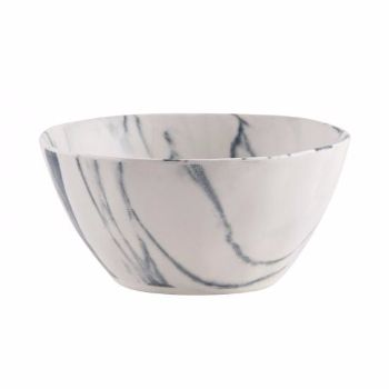 Small Marble Glaze Ceramic Bowl: Made from Stoneware clay, these ceramic small bowls are glazed to look like marble, with a grey and white finish. Beautiful and unusual, this dinner set is perfect for any occasion!