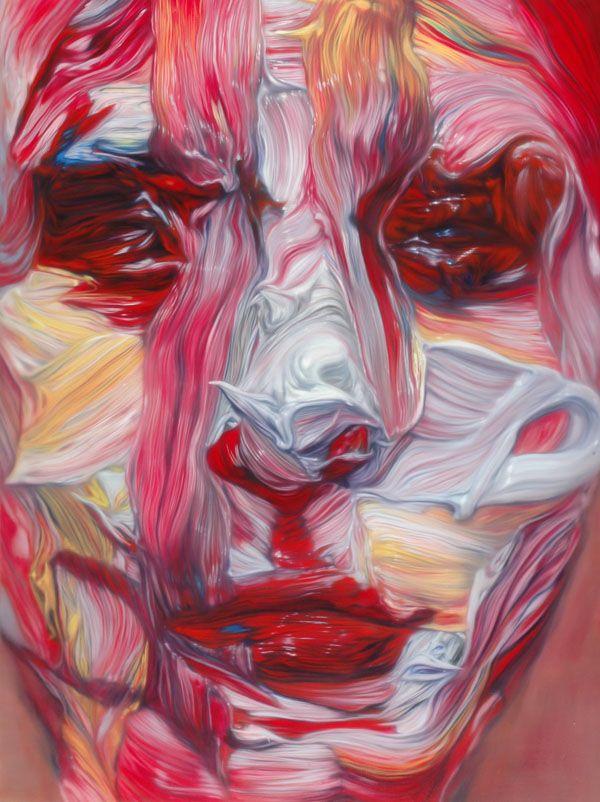 paintingpainting #21    200×150cm  oil on canvas  2006  #pink #art #canvas