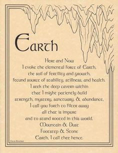 This is one of my favorites on Wiccan Supplies, Witchcraft Supplies & Pagan Supplies Experts-Eclectic Artisans: Earth Evocation poster