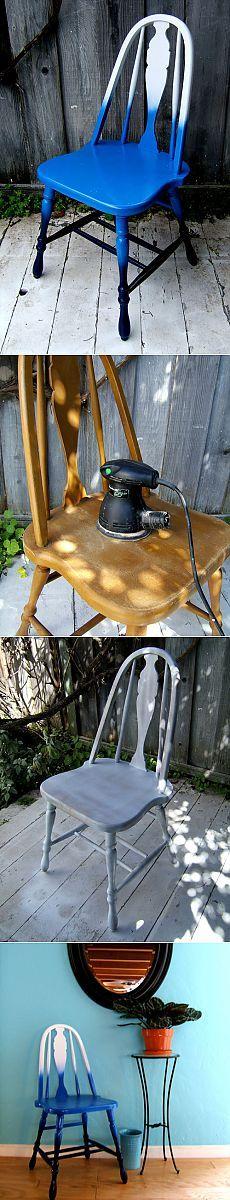 Udekoruj drewniane krzesło na InfoHome.com.ua