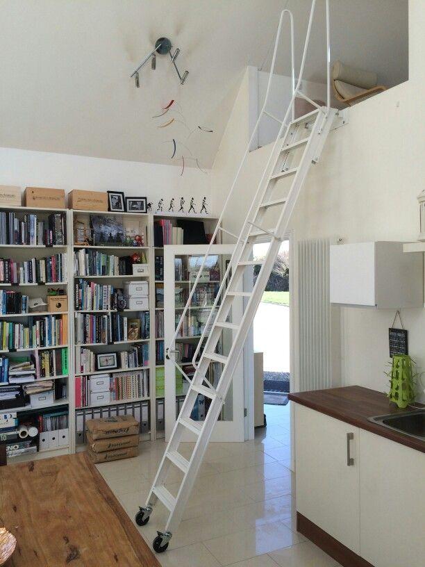 Mezzanine Stairs By Murphy Larkin