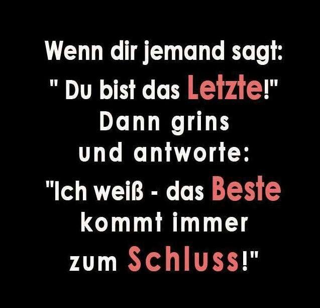 #Sprüche, #Zitate, #kontern