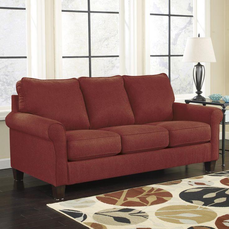 Sectional Sofas The Braxton Twin Cushion Leather Sofa sleeper