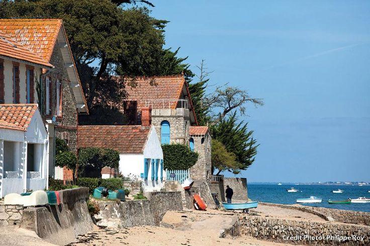 La plage du Mardi-Gras sur l'île de Noirmoutier