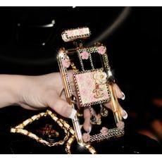 シャネル 香水瓶 Samsung Galaxy S6デコケース おしゃれ ガールズ CHANEL ギャラクシー ノート4 ノート3ケース プレゼント