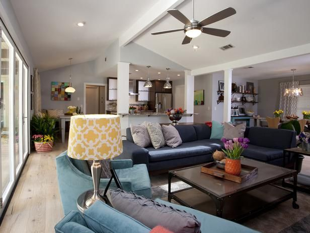 Contemporary Living Rooms From Drew And Jonathan Scott On